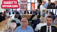 Saadet Partisi Ataşehir Teşkilat İlçe Merkezinde Bayramlaştı