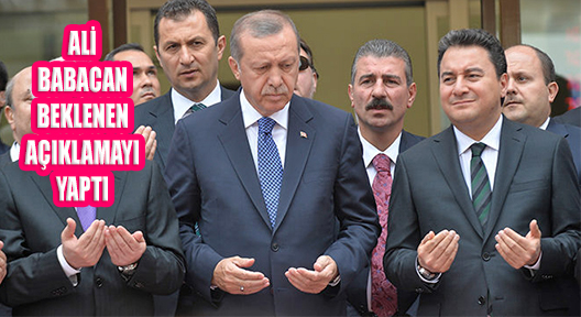 Ali Babacan Kurucusu Olduğu AK Parti'den İstifa Etti