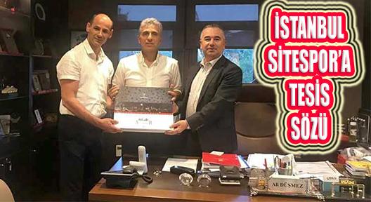 Ataşehir Amatör Kulüplerden Belediyeye Teşekkür Ziyareti