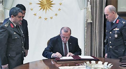 Cumhurbaşkanı Erdoğan Onayladı, YAŞ Kararları Açıklandı