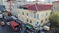 Ataşehir'de Yıkılma Riskli Bina Boşaltılıp Mühürlendi