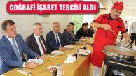 Çankırı 'Sarımsaklı Et Yemeği'ne Coğrafi İşaret Tescil Belgesi