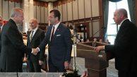 Cumhurbaşkanı Erdoğan, Büyükşehir Başkanlarını Kabul Etti