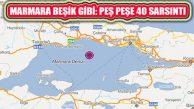 Silivri'de 5,9 Deprem Marmara Denizi Merkezli 40 Sarsıntı