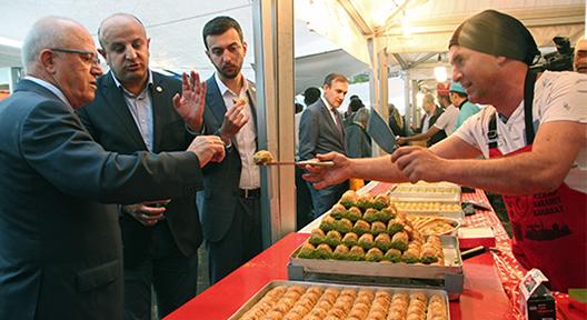 Gaziantep Yiyecekleri Şenliği İle Antep Kültürü Ataşehir'de