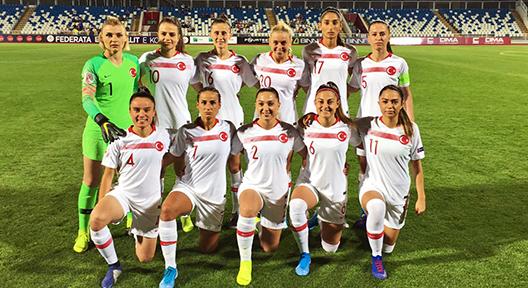 Kadın A Milli Futbol Takımı Kosova'ya 2-0 yenildi