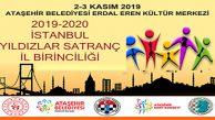 İstanbul Yıldızlar Satranç İl Birinciliği Ataşehir EEKM`nde