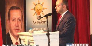 Ak Partili M.Emin Özkaya, 'Bize yılmak, Yorulmak, Durmak Yok'
