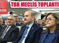 TBB Ekim Ayı Toplantısı İçişleri Bakanı'nın Katılımıyla Gerçekleşti