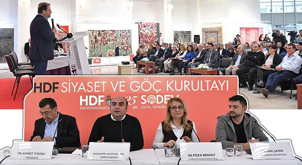 Sosyal Demokratlar Maltepe'de 'Göç Kurultayı'nda Buluştu