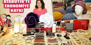 Kadınlar El Emeği Ürünleriyle Aile Ekonomilerine Katkı Sağlıyor
