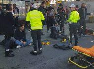 Durağa Dalan Otobüsün Şoförü Bıçakla Saldırdı: 13 Yaralı