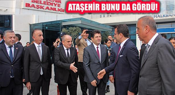 Ataşehir Belediyesi Tarihinde İlk: Büyükşehir Başkanı'nı Ağırladı
