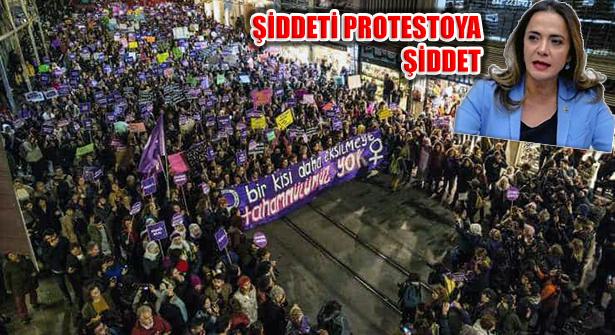İlgezdi, 'Şiddeti Protesto Eden Kadınlara Şiddet Uygulandı'