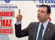 İBB Başkanı İmamoğlu'nun 'Kanal İstanbul'a İtiraz Gerekçeleri