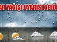 Meteorolojiden İstanbul Dahil Kar Yağışı Uyarısı Geldi