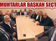 Ataşehir Muhtarları Kongrede Dernek Başkanı Seçti