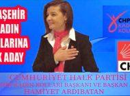 CHP Ataşehir Kadın Kolları Başkanlığına İlk Adaylık Açıklaması