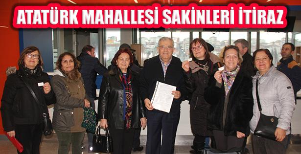 Atatürk Mahallesi'nden 100 Binlik Plan Düzenlemesine İtiraz