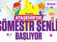 Ataşehir'de Yarıyıl Tatili Çok Güzel Geçecek
