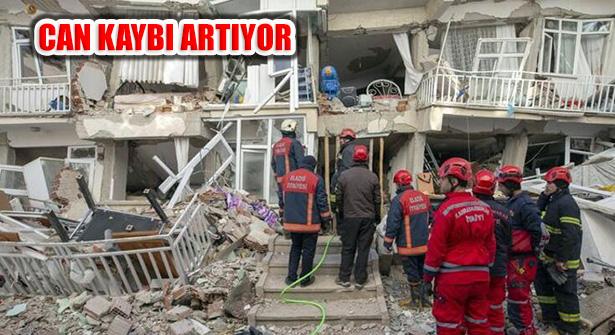 Elazığ Depremi'nde Can Kaybı 32'e, Kurtarılan 45'e Yükseldi