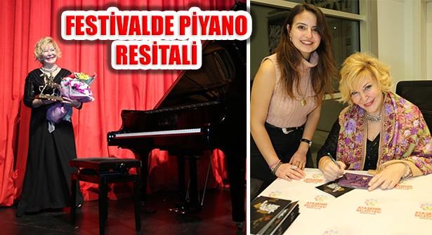 Gülsin Onay'dan Ataşehir'deki Festivalde Piyano Resitali