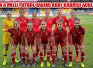 Kadın A Milli Futol Takımı Malta Maçı Aday Kadrosu Açıklandı