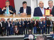 Orta Dernekleri Birliği Kongresinde Bayrak Değişimi