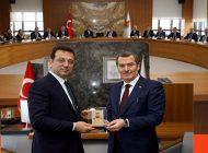 İmamoğlu İlçe Belediye Ziyaretlerine Zeytinburnu İle Devam Etti