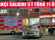 Almanya'da Irkçı Saldırı: 5'i Türk, Saldırganla Birlikte 11 Ölü