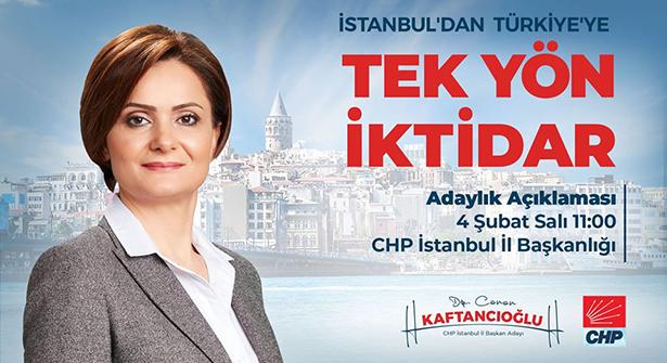 CHP İstanbul İl Başkanlığı Adaylığında İlk Açıklama Yapılıyor