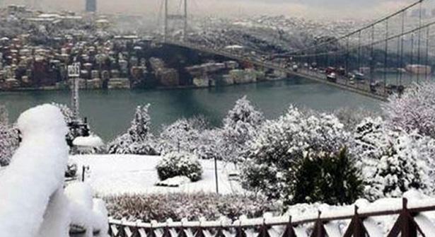 İstanbul'a Beklenen Kar Yağışı Sonunda Geliyor