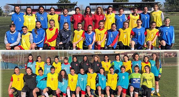 Kadın Futbol Milli Takımları Samsun Ve Trabzon Seçmeleri Yapıldı
