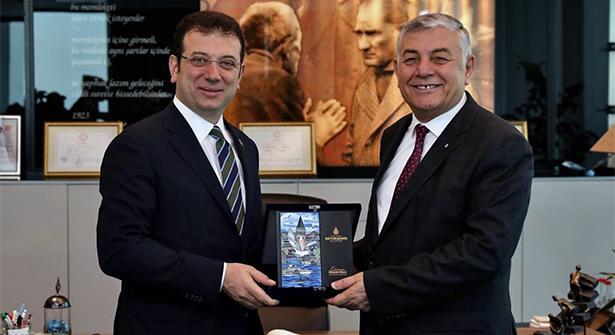 İBB Başkanı Ekrem İmamoğlu, Ortak Masa için Sarıyer'de