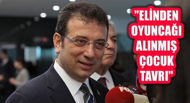 UKOME Tepkisi: 'İstanbul Sizin Oyuncağınız Değil'