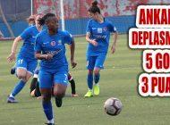 Ataşehir Belediyespor Deplasmanda 3 Puanı 5 golle Aldı