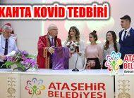 Ataşehir Belediyesi Kovid Salgını Tedbiriyle Nikah Başvurusu Almıyor
