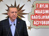 Erdoğan, 'Biz Bize Yeteriz Türkiyem' Sloganlı Kampanya Başlattı