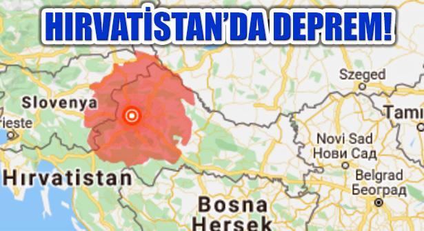 Hırvatistan 5.3 Büyüklüğünde Depremle Sarsıldı