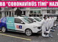 İBB'den Hijyen Seferberliği: 'Coronavirüs Timi'