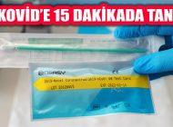 Koronavirüs Testinde 'Hızlı Tanı Kiti'yle 15 Dakikada Sonuç