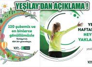 Yeşilay Ataşehir Şubesi 100'üncü Yıl Etkinliklerini İptal Etti