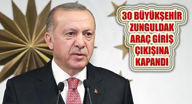 Cumhurbaşkanı Erdoğan, Kovid Salgını Yeni Tedbirlerini Açıkladı