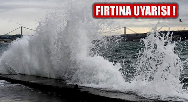 Meteoroloji Uyardı: Marmara Bölgesinde Fırtına Bekleniyor!