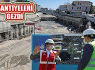 İstanbul'un İlçeleri İle Kurbağalıdere Çalışmalarını Yerinde İnceledi