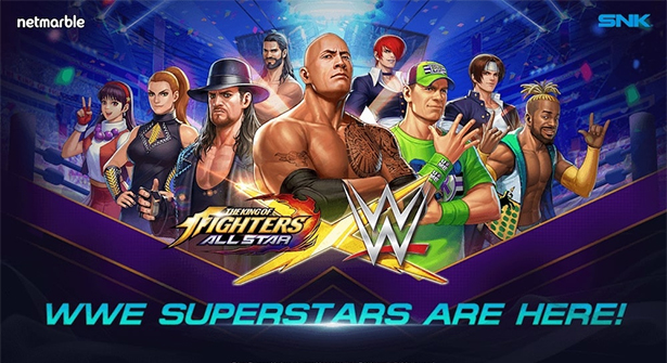 WWE Süperstarları, The Kıng Of Fıghters'a Geliyor