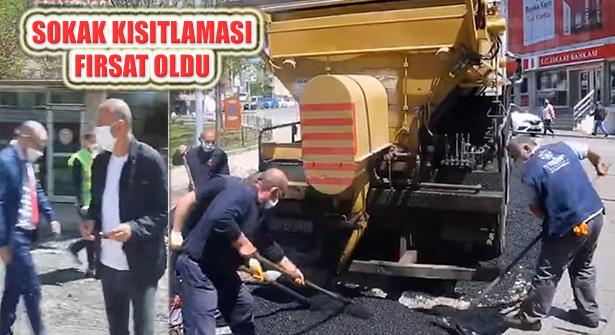 Ataşehir Belediyesi Sokak Kısıtlamasını Değerlendiriyor