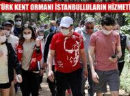 Ekrem İmamoğlu, Atatürk Kent Ormanı'nı Hizmete Açtı