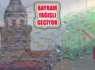 Bayramda İstanbul, Marmara ve Karadeniz Yağışlı Geçiyor