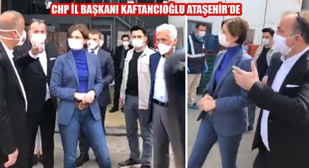 Canan Kaftancıoğlu Ataşehir Belediyesi'ni Ziyaret Etti